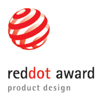 Red Dot Award Helmet Logo